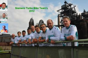 Turbo Biker Team von Siemens Energy
